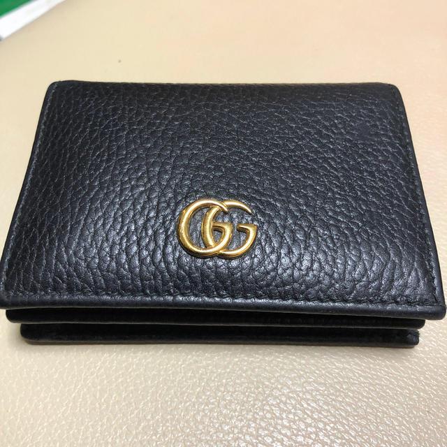 グッチ メンズ 長財布 激安ブランド | Gucci - GUCCI 二つ折財布 プチマーモントの通販 by れむたむ's shop