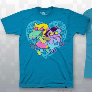 プレイステーション4(PlayStation4)のUndertale アゲアゲキティ Tシャツ 2Xサイズ(Tシャツ/カットソー(半袖/袖なし))