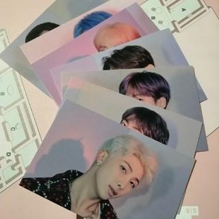 BTS ポップアップ ビンゴ(アイドルグッズ)