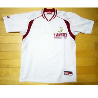 ローリングス(Rawlings)の関西学院 高等部(兵庫) 野球部 ベースボールTシャツ 高校野球  ユニフォーム(ウェア)