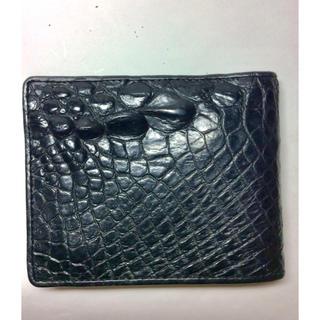 クロコダイル(Crocodile)の本革製 財布(折り財布)