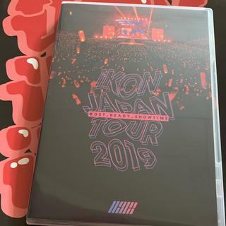 アイコン(iKON)のiKON JAPAN TOUR 2019 DVD 開封済 くじステッカー付(ミュージック)