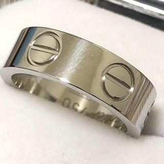 ラブリング ストーンなし6mm レディースステンレスリング  シルバーリング(リング(指輪))