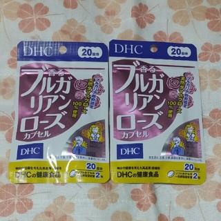 ディーエイチシー(DHC)のDHC 香るブルガリアンローズ 20日分2袋セット(口臭防止/エチケット用品)