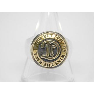 ドクターモンロー(Dr.MONROE)の新品 Dr Monroe 真鍮コンチョ カレッジリング 14号(リング(指輪))