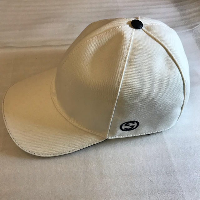 ブランドネックレス 金 | Gucci - 【新品未使用】 GUCCI グッチ ベースボール 帽子 キャップ ホワイト XLの通販 by にゃんこ