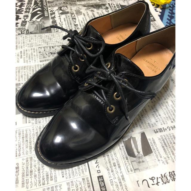 WEGO(ウィゴー)のWEGO レースアップシューズ レディースの靴/シューズ(ローファー/革靴)の商品写真