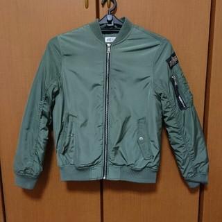 エイチアンドエム(H&M)のH&M  キッズ MA1ジャケット(ブルゾン)