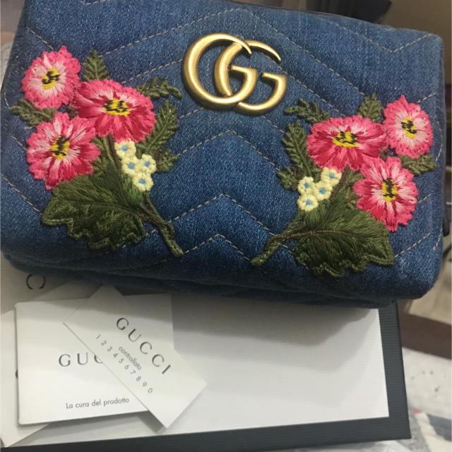 グッチ 長財布 コピー メンズ amazon 、 Gucci - GUCCI 日本限定 GGマーモントポーチの通販 by Li-yya''store