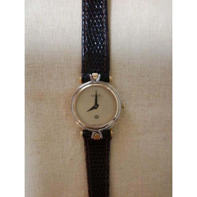 ブルガリ 時計 偽物 見分け方グッチ | Gucci - グッチ腕時計4500Lレディースの通販 by イチゴパフェ