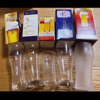 サントリー(サントリー)のプレミアム・モルツ  オリジナル グラス 5点セット(アルコールグッズ)