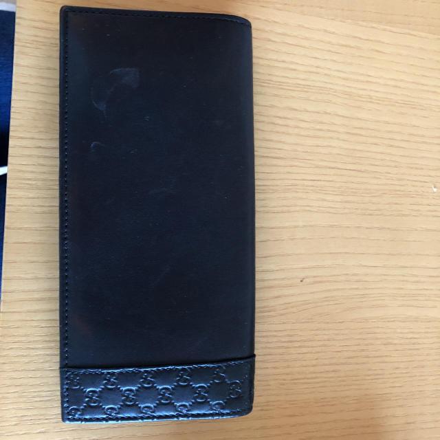 グッチ バッグ 偽物激安 、 Gucci - GUCCIレザー長財布の通販 by さき's shop