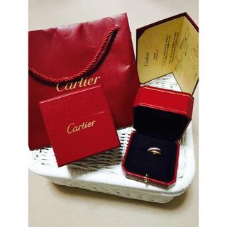 カルティエ(Cartier)のカルティエ トリニティリング 定価66万(リング(指輪))