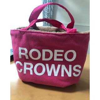 ロデオクラウンズワイドボウル(RODEO CROWNS WIDE BOWL)の美品 ロデオクラウンズ   リバーシブルバッグ(ハンドバッグ)