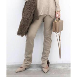 アパルトモンドゥーズィエムクラス(L'Appartement DEUXIEME CLASSE)のL'APPARTEMENT Wool Zip Leggings アパルトモン(レギンス/スパッツ)