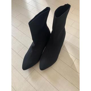 コウベレタス(神戸レタス)の#神戸レタス  ソックスブーツ(ブーツ)