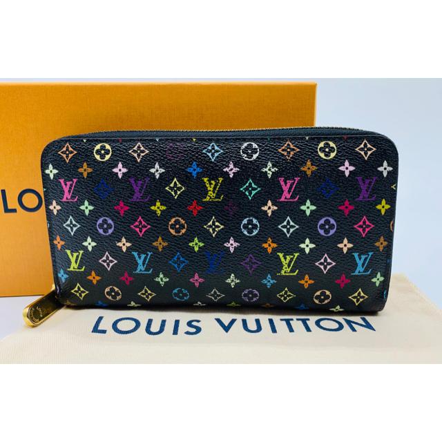 LOUIS VUITTON - ⭐️ 良品 ルイ・ヴィトン マルチカラー ジッピーウォレット 長財布 正規品の通販 by ENN's BRAND shop