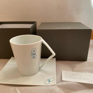 ミナペルホネン(mina perhonen)のあゆたま様専用!!ミナペルホネン Ku カップ&ソーサー blue(グラス/カップ)