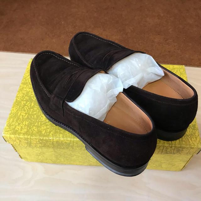 YANKO(ヤンコ)のYANKO ヤンコ スエード ローファー   サイズ 25cm  新品 メンズの靴/シューズ(スリッポン/モカシン)の商品写真