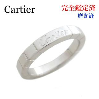 カルティエ(Cartier)の磨き済 カルティエ ラニエールリング K18 ホワイトゴールド #50(リング(指輪))