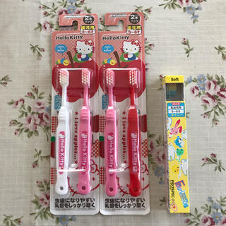 サンリオ(サンリオ)の歯ブラシ5本セット(乳幼児〜園児用)(歯ブラシ/歯みがき用品)