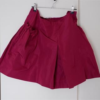 ミュウミュウ(miumiu)の最終お値下げ 美品 miumiu スカート 40(ミニスカート)
