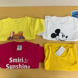 アイリーライフ(IRIE LIFE)の◆新品未使用◆irie life子供用Tシャツ3枚+しまむらTトップ100サイズ(Tシャツ/カットソー)