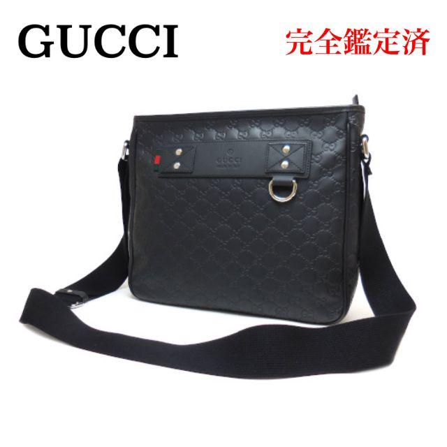 1016 スーパーコピー時計 / Gucci - GUCCI グッチ グッチシマ ラバー ショルダーバッグ 322080 黒の通販 by クローバー's shop