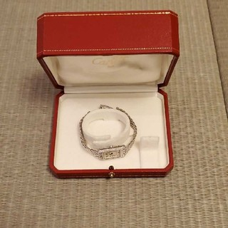 カルティエ(Cartier)の専用です。未使用❗Cartierバングル型時計とバングル専用ケース(ブレスレット)