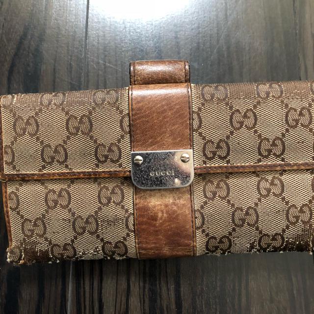 グッチ 時計 コピー日本 | Gucci - GUCCI 長財布 茶色の通販 by かえま's shop