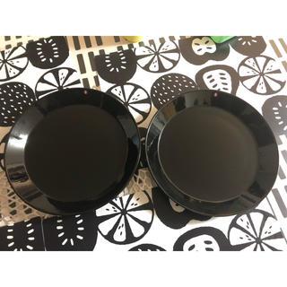 イッタラ(iittala)のイッタラ ティーマ ブラック 26cm 2枚(食器)