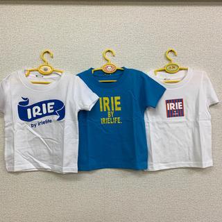 アイリーライフ(IRIE LIFE)の◆新品未使用◆irie life子供用Tシャツ 100サイズ 3枚セット(Tシャツ/カットソー)