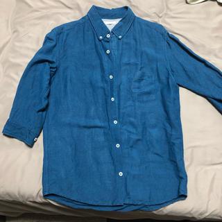 七分袖 メンズ シャツ(シャツ)