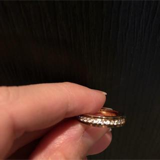 ピンクゴールド 指輪 7号(リング(指輪))