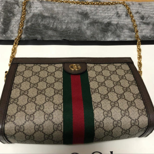 ダミエ 長財布 スーパーコピー時計 、 Gucci - グッチ ショルダーバッグの通販 by nene  shop