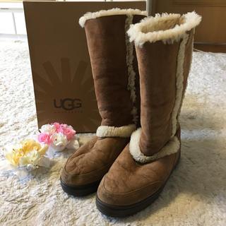 アグ(UGG)のふんわり暖かい♪アグムートンブーツ  26.0cm(ブーツ)