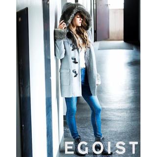 エゴイスト(EGOIST)のEGOIST ファー付ダッフルコート(ダッフルコート)