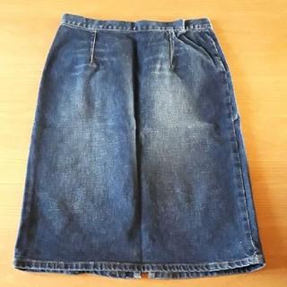 アールジーン(Earl Jean)のアールジーン デニムタイトスカート デニムスカート(ひざ丈スカート)