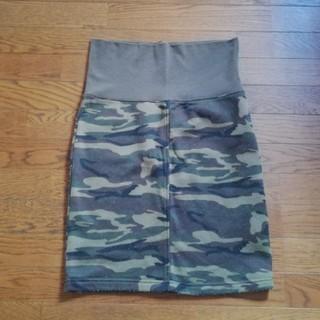 アカチャンホンポ(アカチャンホンポ)のマタニティ用 迷彩柄スカート(マタニティウェア)