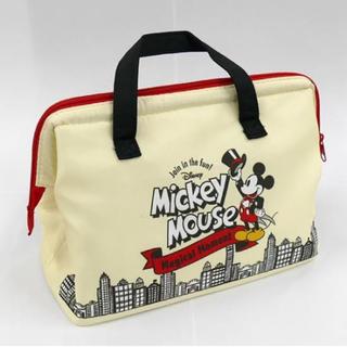 ミッキーマウス(ミッキーマウス)の保冷がま口ランチバッグ ミッキーマウス (弁当用品)