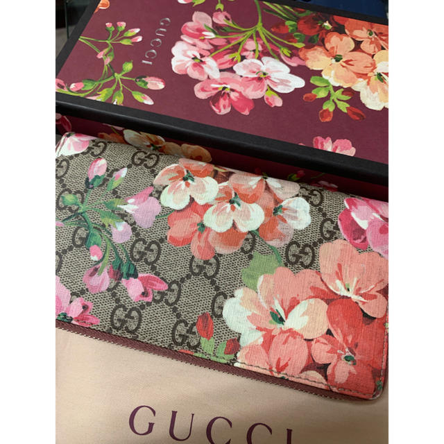 Gucci - ❤️美品❤️グッチ GUCCI  404071 GGブルームス❤️長財布の通販 by toku's shop