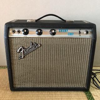 フェンダー(Fender)のfender champ 1970年製 silver face ヴィンテージ(ギターアンプ)