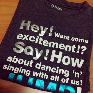 Hey!Say!JUMP ツアーTシャツ(アイドルグッズ)
