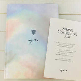 agete - agete 2020 Spring Collection カタログ