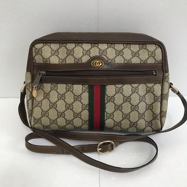 chanel 財布 偽物 楽天 、 Gucci - オールドグッチ シェリーライン ショルダーバッグの通販 by たけし's shop