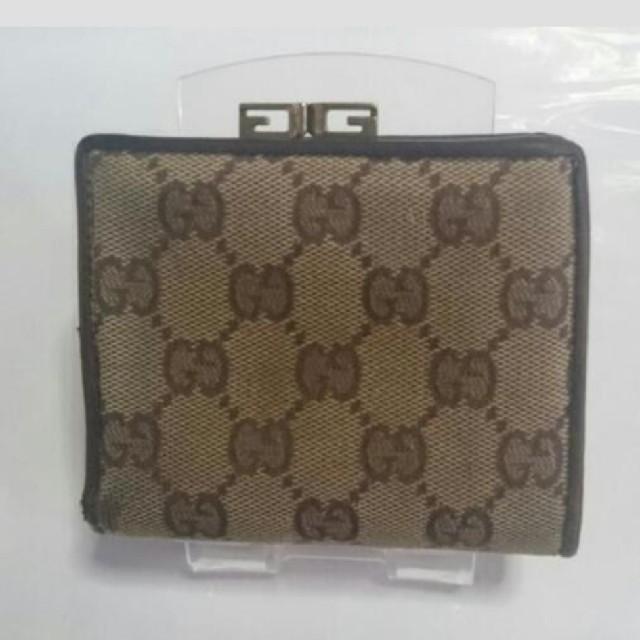Gucci - GUCCI 二つ折り財布の通販 by ゆう's shop