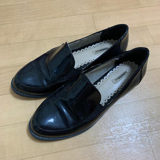 ランダ(RANDA)のRANDA エナメルローファー サイズS(ローファー/革靴)