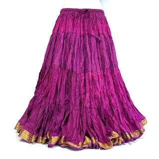 インドサリー 25ヤード ジプシー スカート ベリーダンス #10 衣装