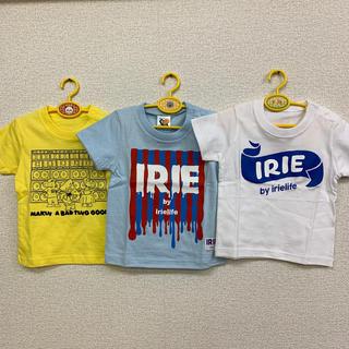 アイリーライフ(IRIE LIFE)の◆新品未使用◆irie life子供用Tシャツ 90サイズ 3枚セット(Tシャツ/カットソー)