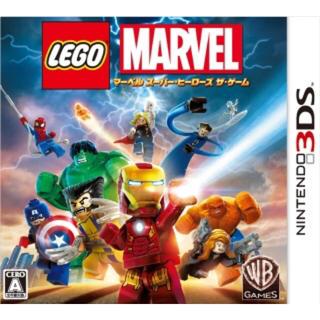 レゴ(Lego)のレゴ マーベル スーパーヒーローズ ザ・ゲーム 3DS 新品・未開封(携帯用ゲームソフト)